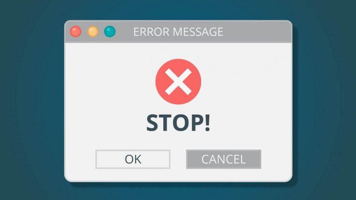 Cách khắc phục khi gặp lỗi email 550